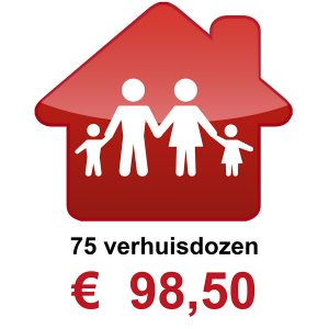 Verhuisdozen kopen 4 persoons huishouden