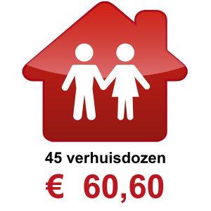 Verhuisdozen kopen 2 persoons huishouden