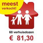Verhuisdozen kopen 3 persoons huishouden