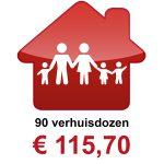 Verhuisdozen kopen 5 persoons huishouden