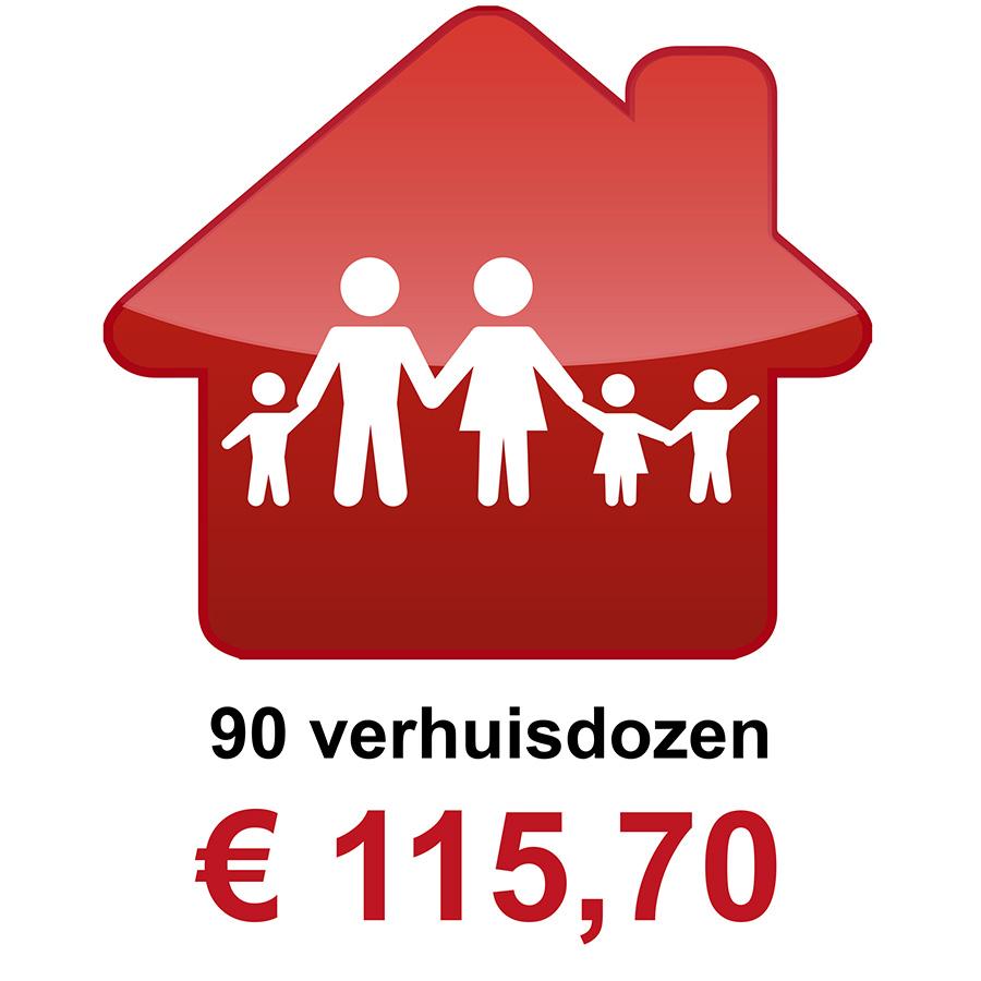 90 verhuisdozen kopen bij gamma praxis of brico betaal for Verhuisdozen action